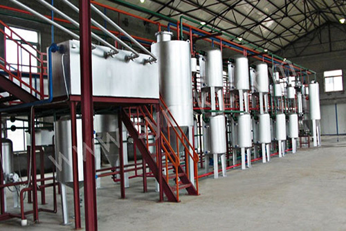 Automatic Oil Refining Equipment for Garbage(图1)